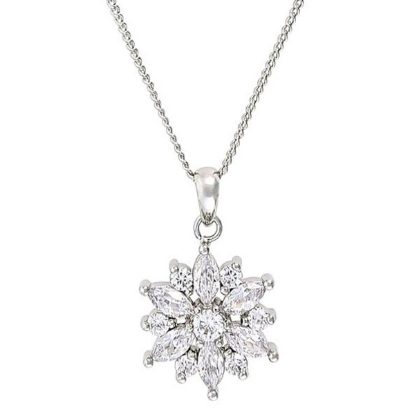 Kette - Cute Crystal Flower