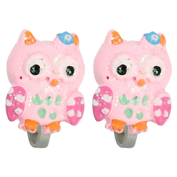 Kinder Ohrclips - Cute Owl