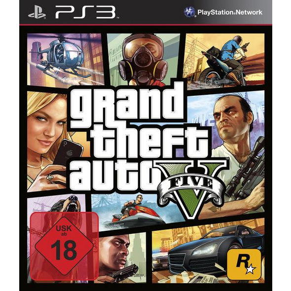 Grand Theft Auto V (100% UNCUT)