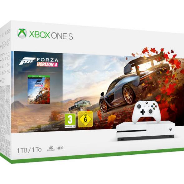 Xbox One S 1TB Konsole inkl. Forza Horizon 4