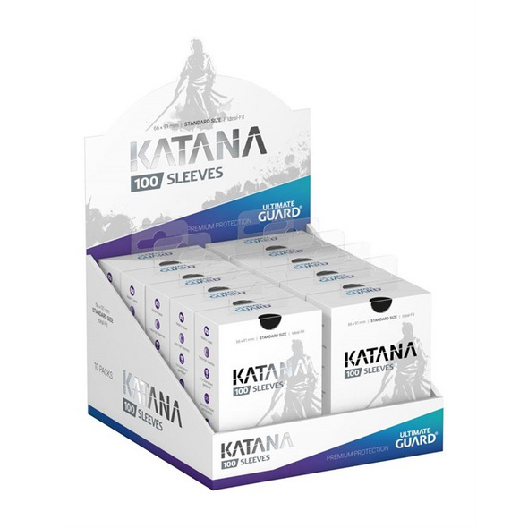 Ultimate Guard: Katana Sleeves Standardgröße schwarz (100) Kartenhüllen