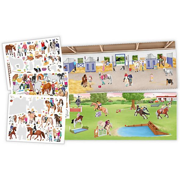 Stickerbuch Create your Happy Horses