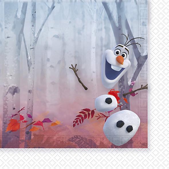 Servietten Disney Die Eiskönigin 2  33 x 33 cm, 20 Stück