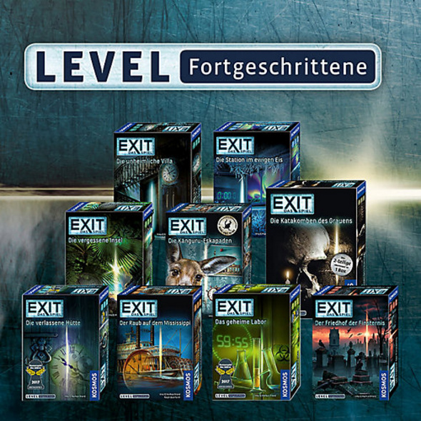 EXIT - Das Spiel - Der Friedhof der Finsternis - Level Fortgeschrittene