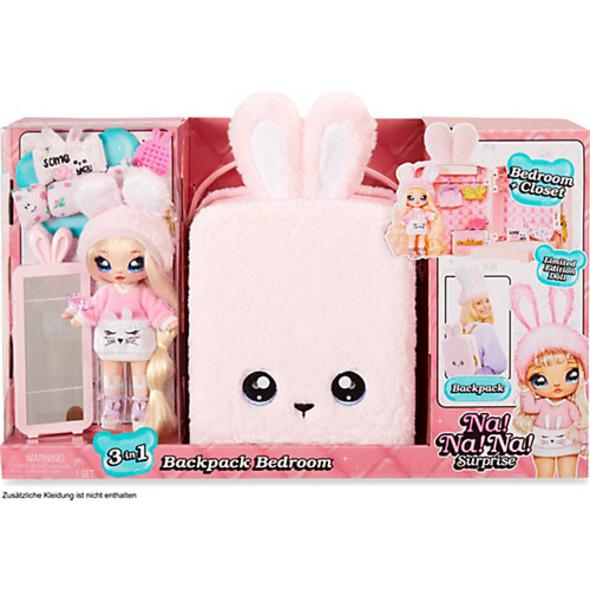 Na! Na! Na! Surprise 3-in -1 BackPack Bedroom Spielset - Pink