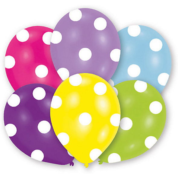 Ballons Polka, 6 Stück
