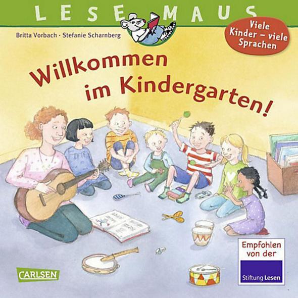 Lesemaus: Willkommen im Kindergarten