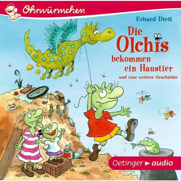 Die Olchis bekommen ein Haustier und eine weitere Geschichte (CD)