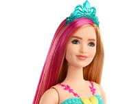 Barbie Dreamtopia Prinzessin Puppe, (rotblond und pinkfarbenes Haar), Anziehpuppe