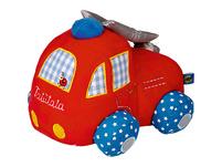 Stoff-Feuerwehrauto BabyGlück