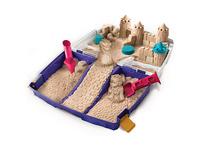 Kinetic Sand™ Transportabler Sandkasten, 907g + 6-tlg. Zubehör