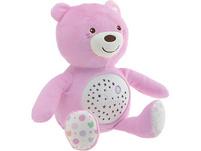 Nachtlicht mit Musik Baby Bär, rosa