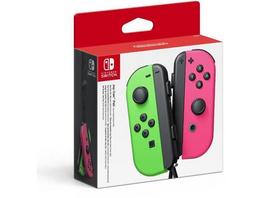 Nintendo JoyCon 2er-Set grün pink