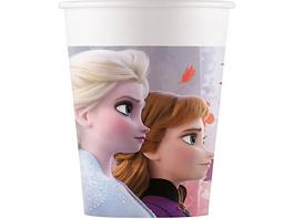 Pappbecher Disney Die Eiskönigin 2 200 ml, 8 Stück