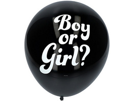 Konfetti Ballon Gender Reveal, Junge, 3 Stück