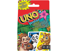 Mattel Games UNO Junior, Kartenspiel, Kinderspiel, Familienspiel