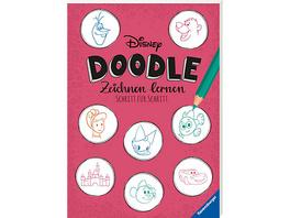 Disney Doodles - zeichnen lernen: Schritt für Schritt