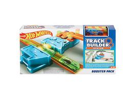 Hot Wheels Track Builder Unlimited Booster Pack, Auto-Beschleuniger inkl. 1 Spielauto